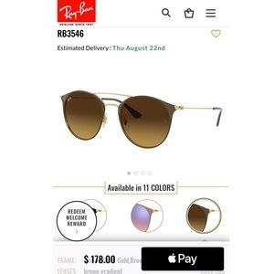 Ray an Sunglasses - RB3546